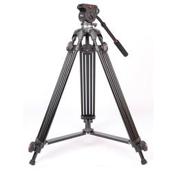 JIEYANG JY0508 JY-0508 JY0508B Professional Camera Tripod Video Tripod/Dslr VIDEO Tripod Fluid Head Damping for video wholesale