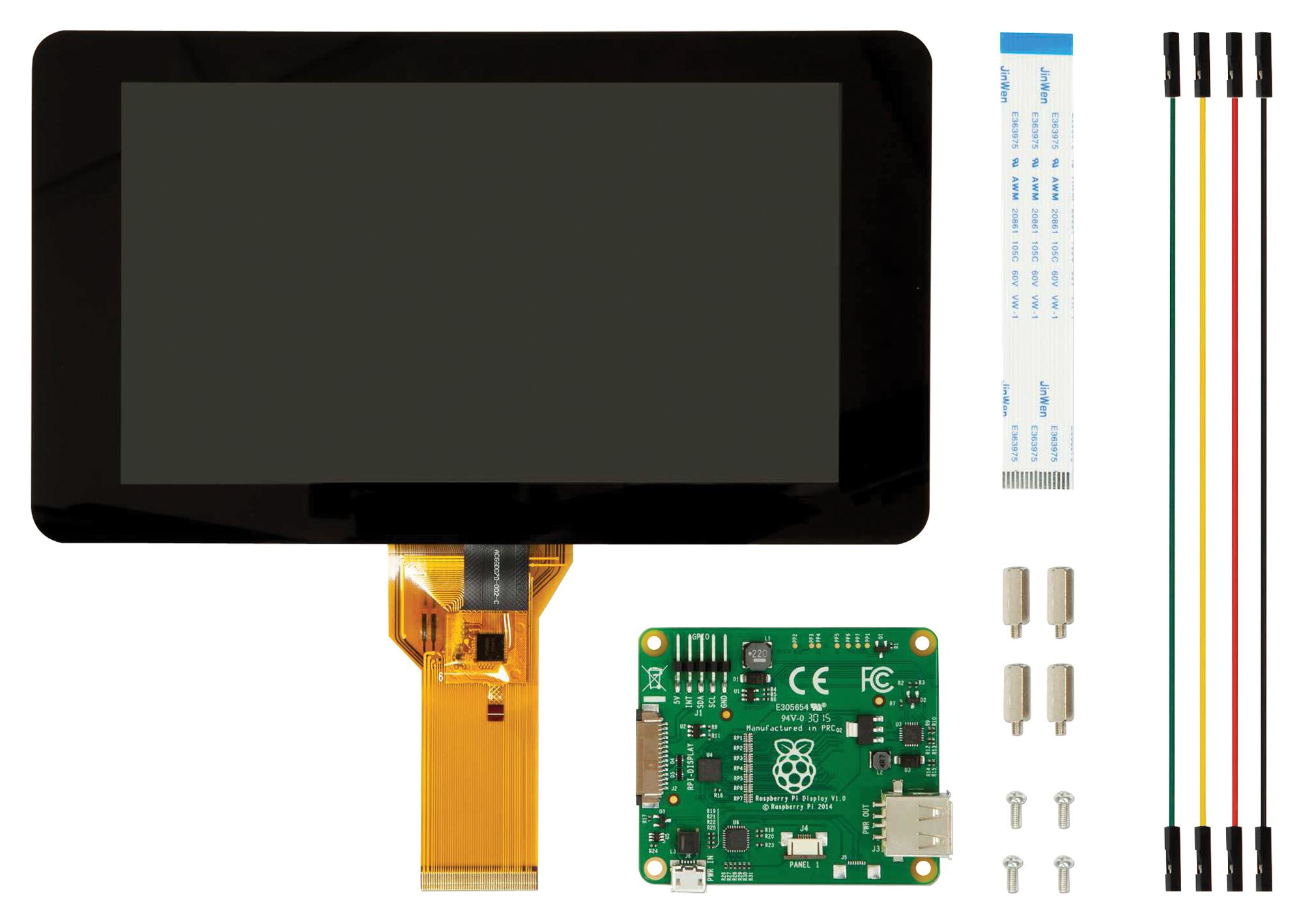 RASPBERRYPI-DISPLAY Raspberry Pie Official 7 Inch Touch Screen DSI Interface
