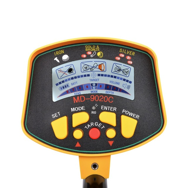 Professional Underground Metal Detector MD9020C metal-detector High Sensitivity LCD Display Treasure Gold Hunter Finder Scanner 1