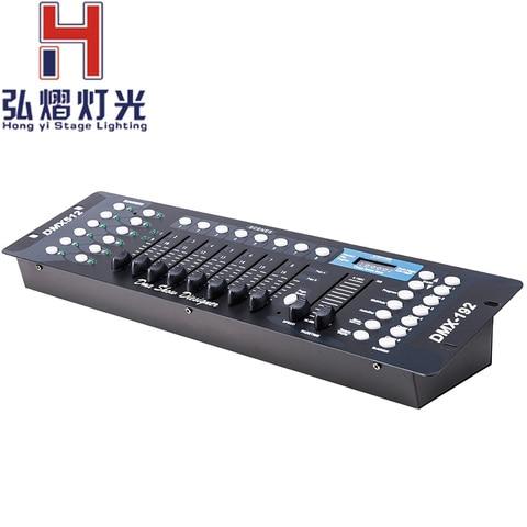 1 pc lote 192 dmx 192 mini pedra 192 console de controle dmx para a