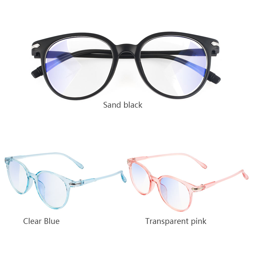 Retro Computer Glasses Anti Blue Ray Glasses Anti Blue Light Eyeglasses Optical Eye Spectacle UV Blocking Gaming Eye Protection