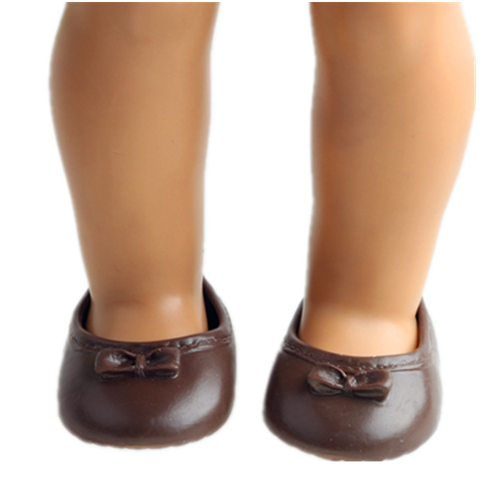 Doll shoes Rubber doll shoes for 18 inch American girl doll for baby gift n1467