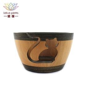 Image 1 - Recipiente de lana de loto para tejer