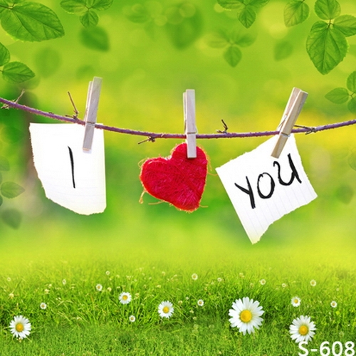 1 W X1 5 H M Wedding Photography Backdrops Promotion Love Letter