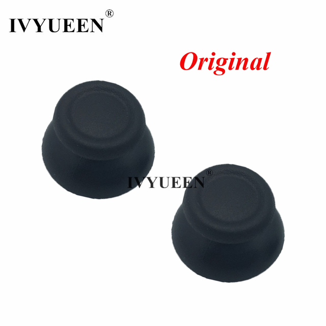 IVYUEEN 2 pcs Original High Quality 3D Analogue Thumbsticks for Sony Dualshock 4 PS4 DS4 Controller Analog Thumb Stick Cap Grips