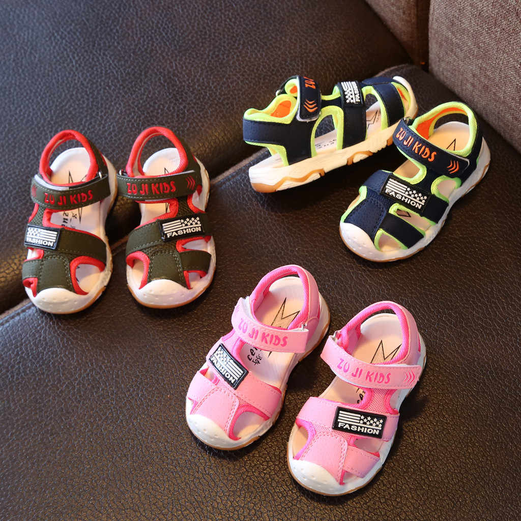 Fashion Kids Boys Sandals Children Girls Beach Shoes Toddler Students Sandals