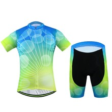 2016 Hot salt Quick Dry Men Bike Clothing Suits Cycling Jersey Sets Bicycle Top Cycling Wear Shirts mtb Garment Clothes