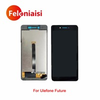 5 5 For Ulefone Future Full Lcd Display With Touch Screen Digitizer Panel Assembly Complete Black