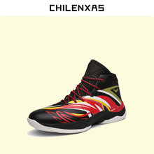 CHILENXAS 2017 new fashion winter lenther shoes men casual height in creasing lace-up ankle boots breathable solid waterproof