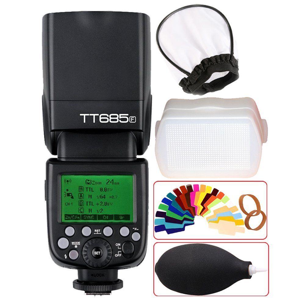 <font><b>Godox</b></font> GN60 tt685f 2.4 г HSS TTL 1/8000 s Вспышка Speedlite + x1t-f триггер trasmettitore комплект для Fujifilm fuji x-pro2/x-t20/x-t1/X-T2
