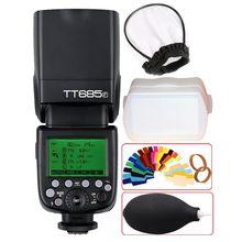 Godox GN60 TT685F 2.4G HSS TTL 1/8000s Flash Speedlite+ X1T-F Trigger Trasmettitore Kit For Fujifilm Fuji X-Pro2/X-T20/X-T1/X-T2