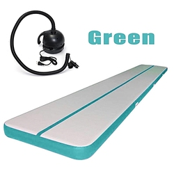 Best Selling Inflatable Gymnastics Mat Home Use Air Track/Air Floor With Pump 3M Or 1*0.6*0.1M Bouncing Track Promotion Price