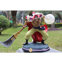 13Inch ONE PIECE Edward Newgate Four Emperors GK White beard Old Daddy PVC Action Figure Collection Statue Model Y414