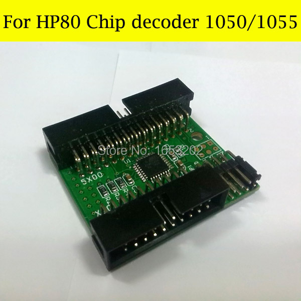 For HP Designjet 1050/1055/1050ps Printer Chip Decoder For HP 80 Ink Cartridge for hp designjet 1050 1055 1050ps printer chip decoder for hp 80 ink cartridge