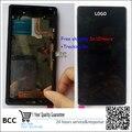 Melhor qualidade Original Novo Touch Screen + display LCD com moldura para sony xperia z2 l50w d6503 teste ok, + rastreamento em estoque!