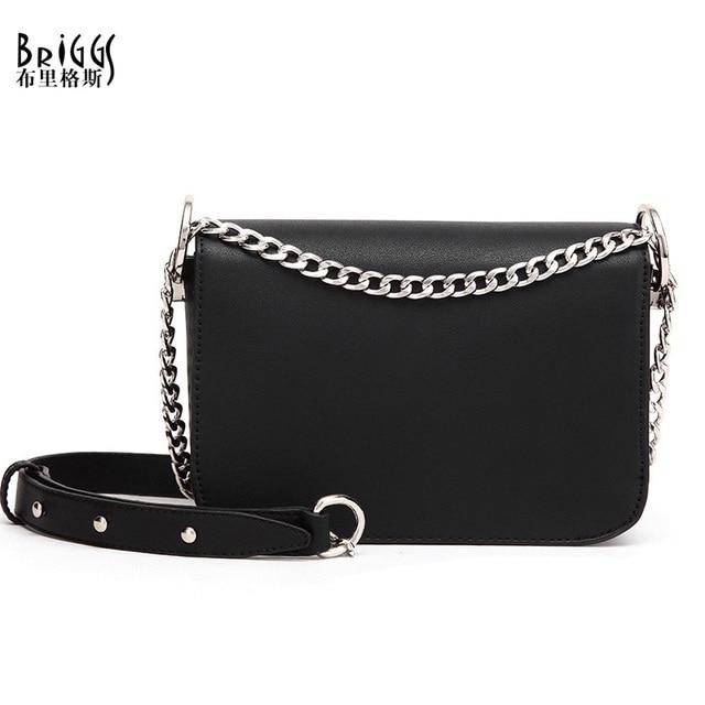 BRIGGS Summer Bag Famous Brand Women Messenger Bag Chains PU Leather Women Shoulder Bag Vintage Small Mini Flap Bag Bolsas