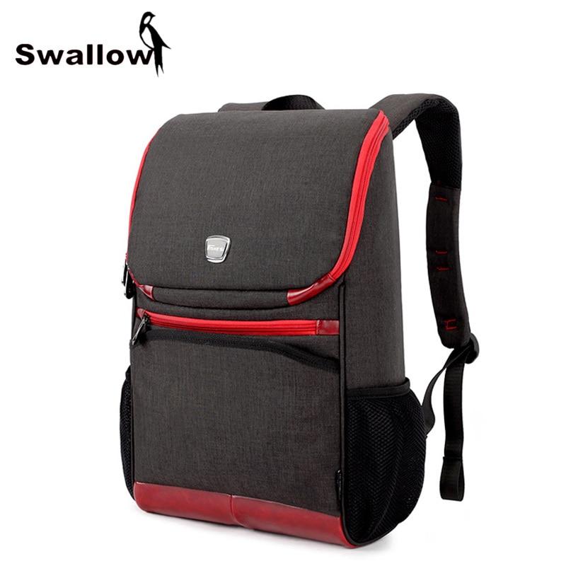 ФОТО Fashion Men's Laptop Bag 15.6 inch Waterproof Laptop Backpack Women Large Capacity High Quality Oxford Travel School Bags Unisex