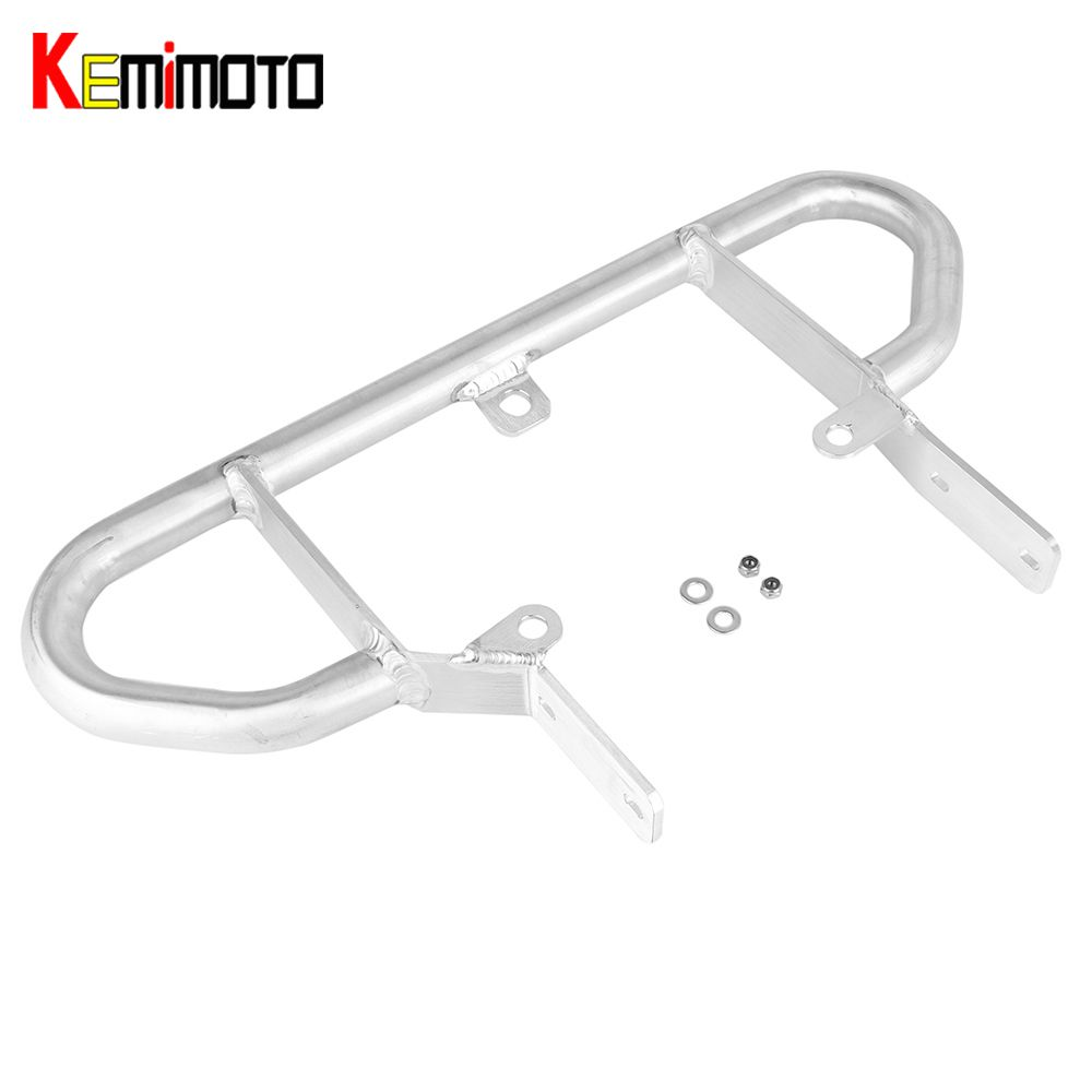 KEMiMOTO Grab Bar Rear Grab Rail for ATV Quad For Yamaha Blaster 200 YFS 200 1988-2006 Shelf Rear Rack Aluminum kemimoto for yamaha rhino 450 2006 2009