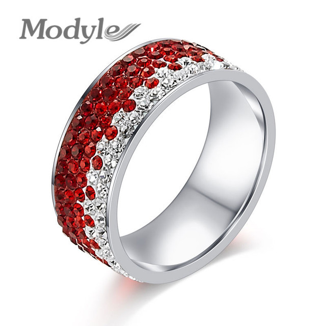 Zircon Ring Clear CZ Gold Plated