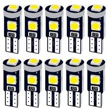 10 шт. T5 58 74 286 W1.2W супер яркий 3030 светодиодный клин приборной панели манометр лампы Предупреждение ющий индикатор инструмент индикаторы кластера лампы