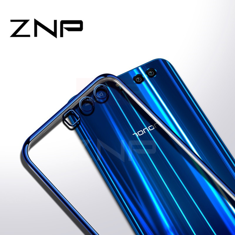 ZNP Luxury Soft Phone Case For P10 P9 P8 Lite Honor 9 Cases Silicone Soft TPU Full Cover For Honor V10 9 Huawei P10 P9 Plus Case