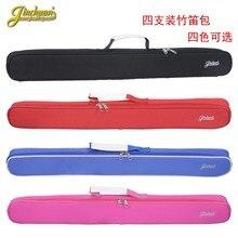 75 см новый Оптовая профессиональный портативный прочный бамбуковая флейта сумка мягкой gig мягкая обложка коробка рюкзак 4 шт. флейта