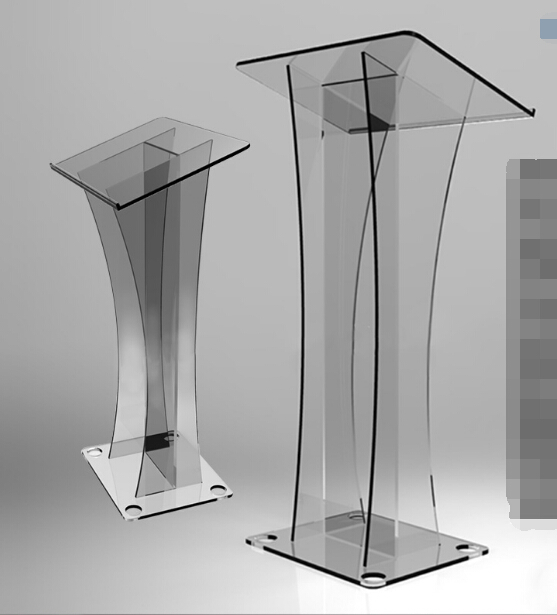 Podium Podium Reception Desk Reception Table Transparent Acrylic Lectern  Reception Desk Reception Shopping Guide