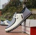El 2016 de los hombres en la primavera y el otoño Coreano Doug Británica de negocios casuales Para Hombre Deporte zapatos para hombre