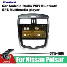 ZaiXi Android Car GPS Multimedia Player For Nissan Pulsar C13 2015~2019 car Navigation radio Video Audio Bluetooth