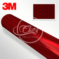 EKER CAR STICKER High Quality 1.22x45.7M 3M 3432 Red EGP Engineering Grade Reflective Sheeting For Road Sign