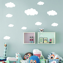 Clouds Wall Sticker Baby Nursery Cloud Decal 42pcs Children Decors Easy Stickers Kids Room P23-2