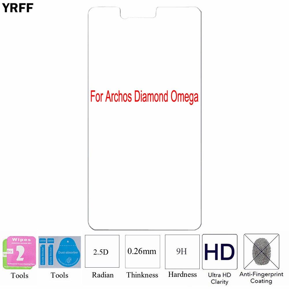 2PCS For Archos 55 Diamond Plainum 2.5D 0.25mm 9H Tempered Glass Screen Protector Protective Film For Archos Diamond Omega Alpha