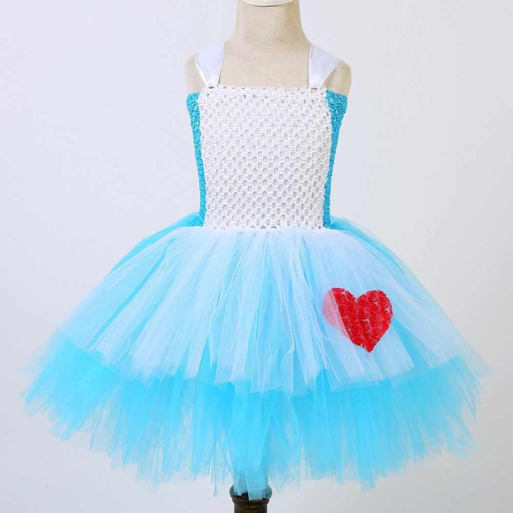 697dd1396 ... Alicia en el país de las maravillas de la princesa chica Tutu vestido  clásico película Belle ...