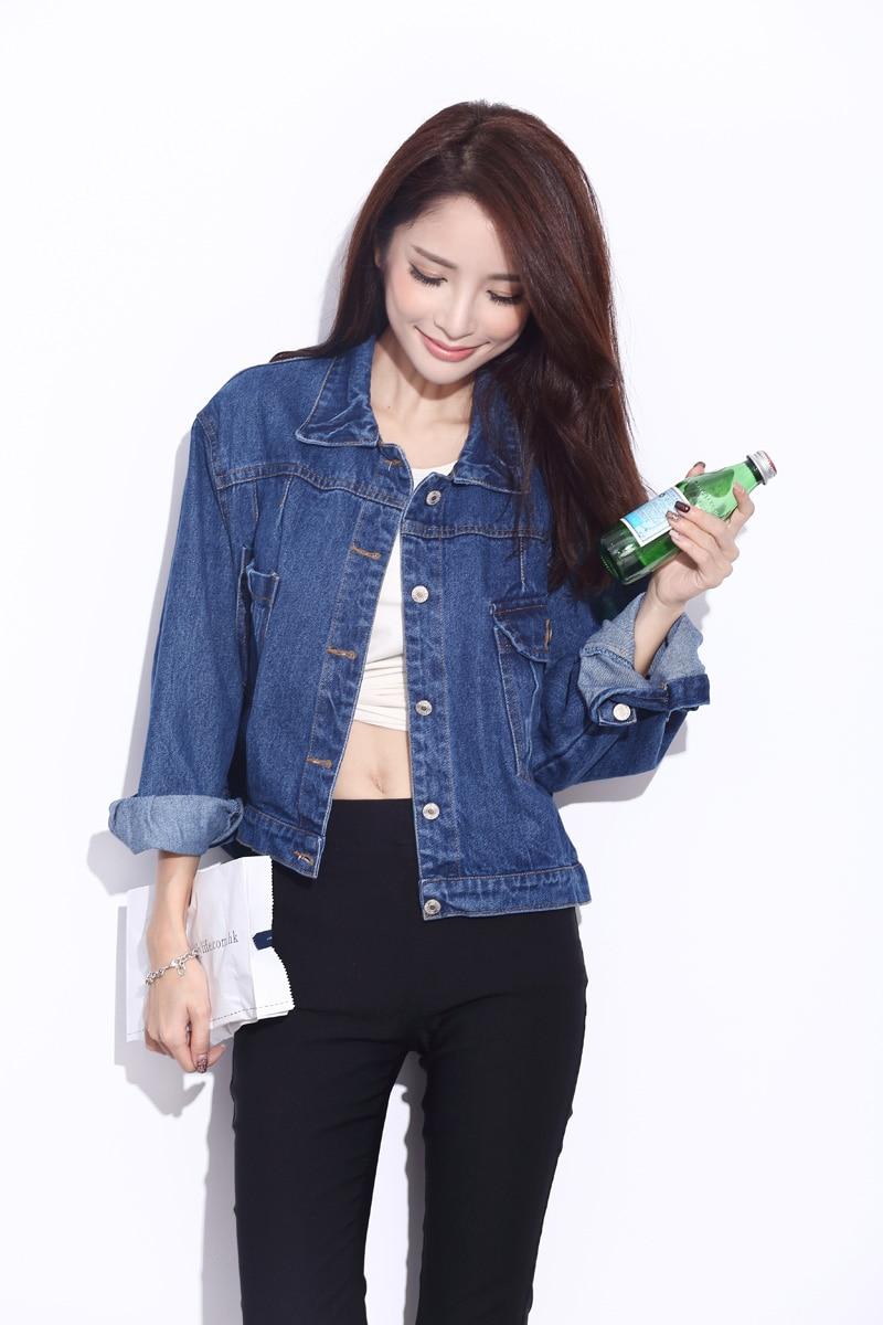 linsdenim new fashion womens jeans loose denim jacket