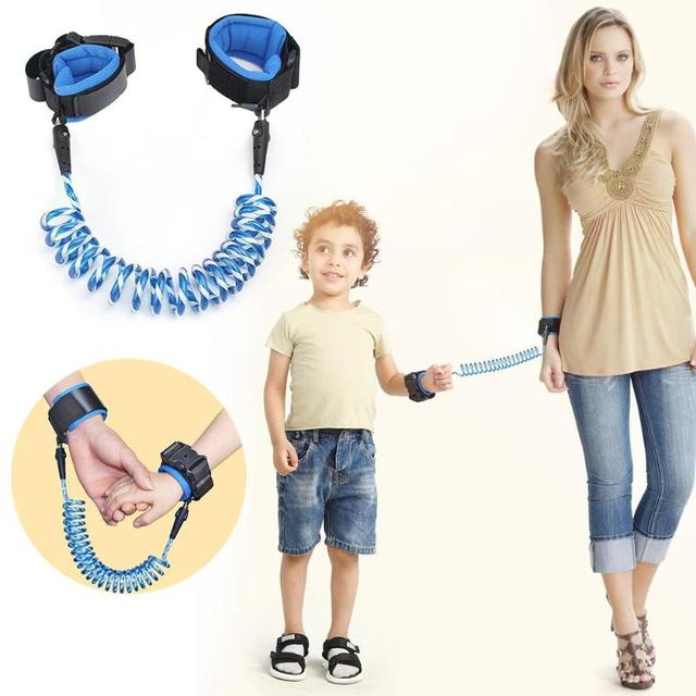 1.5/2/2.5M Baby Anti Lost Wrist Strap Rope Parent-child Outdoor Walking Hand Belt Kids Safety Anti-lost Wristband Toddler Leash