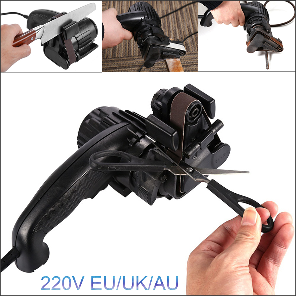 Portable Electric Knife Tool drill sharpener sharpening drill Adjustable multitool Knife Sharpener Sharpening Tool power tool electric multifunction knife sharpening sharpener grinding knife drill sharpener electric drill bit sharpener