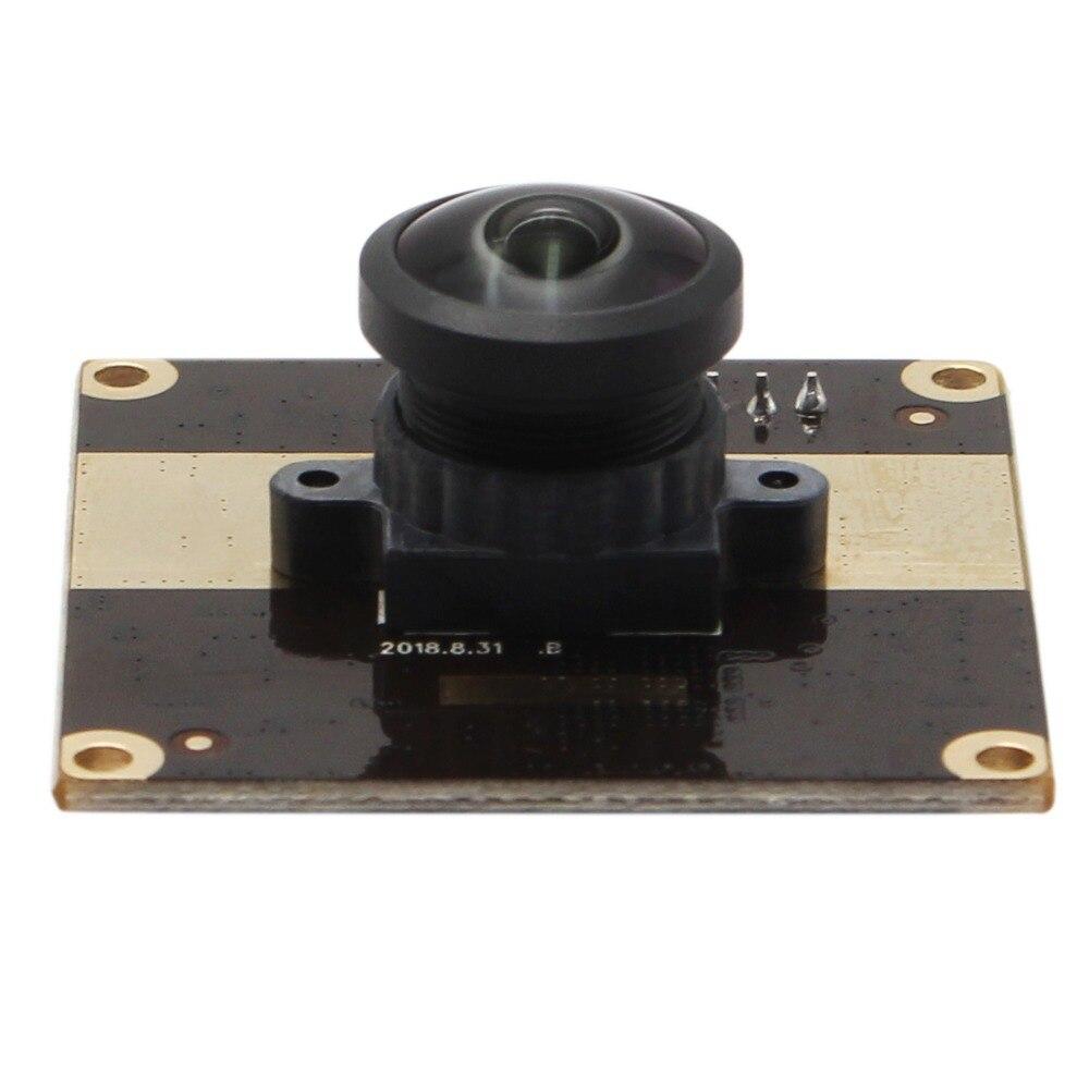 Webcam usb 1080 P Full HD Aptina AR0330 Couleur CMOS H.264/MJPEG/YUV module de caméra usb avec 180 degrés Correction de la Distorsion lentille
