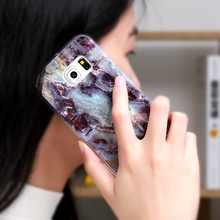 Marble Case For Samsung Galaxy Case S8 S7 S6 A5 J5 J3