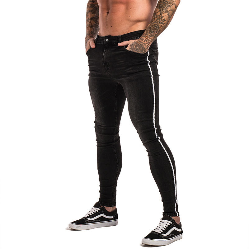 Gingtto Skinny Jeans For Men Distressed