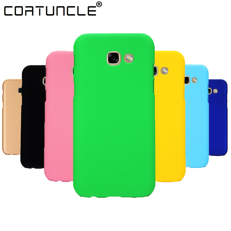 Phone <font><b>Case</b></font> For Fundas <font><b>Samsung</b></font> Galaxy <font><b>A5</b></font> 2017 <font><b>Case</b></font> 360 <font><b>Hard</b></font> plastic PC Candy Color Back Cover For <font><b>Samsung</b></font> A3 <font><b>A5</b></font> A7 <font><b>2016</b></font> 2017 <font><b>Case</b></font> image