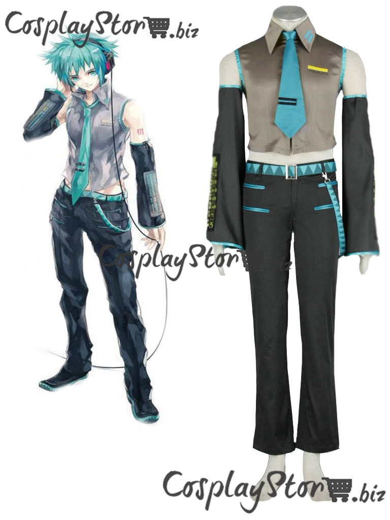 Vocaloid Cosplay MIKUO Mens  Cosplay Costume