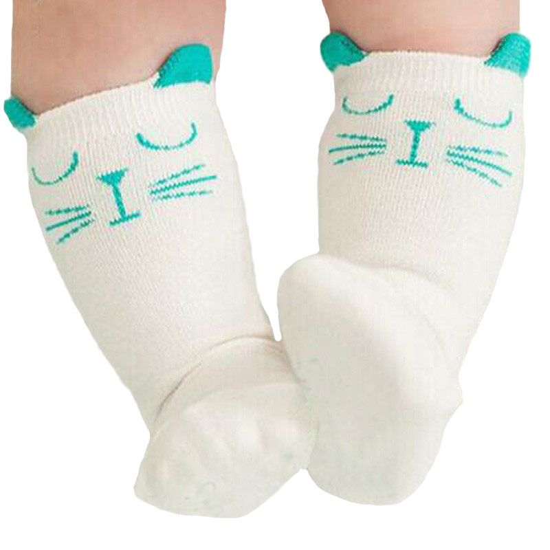Cartoon Newborn Socks