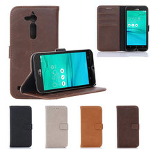 For Asus Zenfone GO ZB500KL Case Cover PU Leather Back Cover Phone Case For Asus Zenfone GO ZB500KL Case 5.0 inch Protective Bag