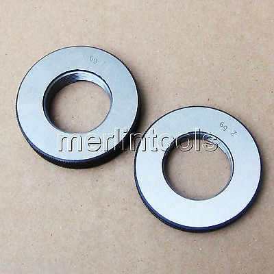 M30 x 2 Right hand Thread Ring Gage m21 x 1 right hand thread gauge plug gage