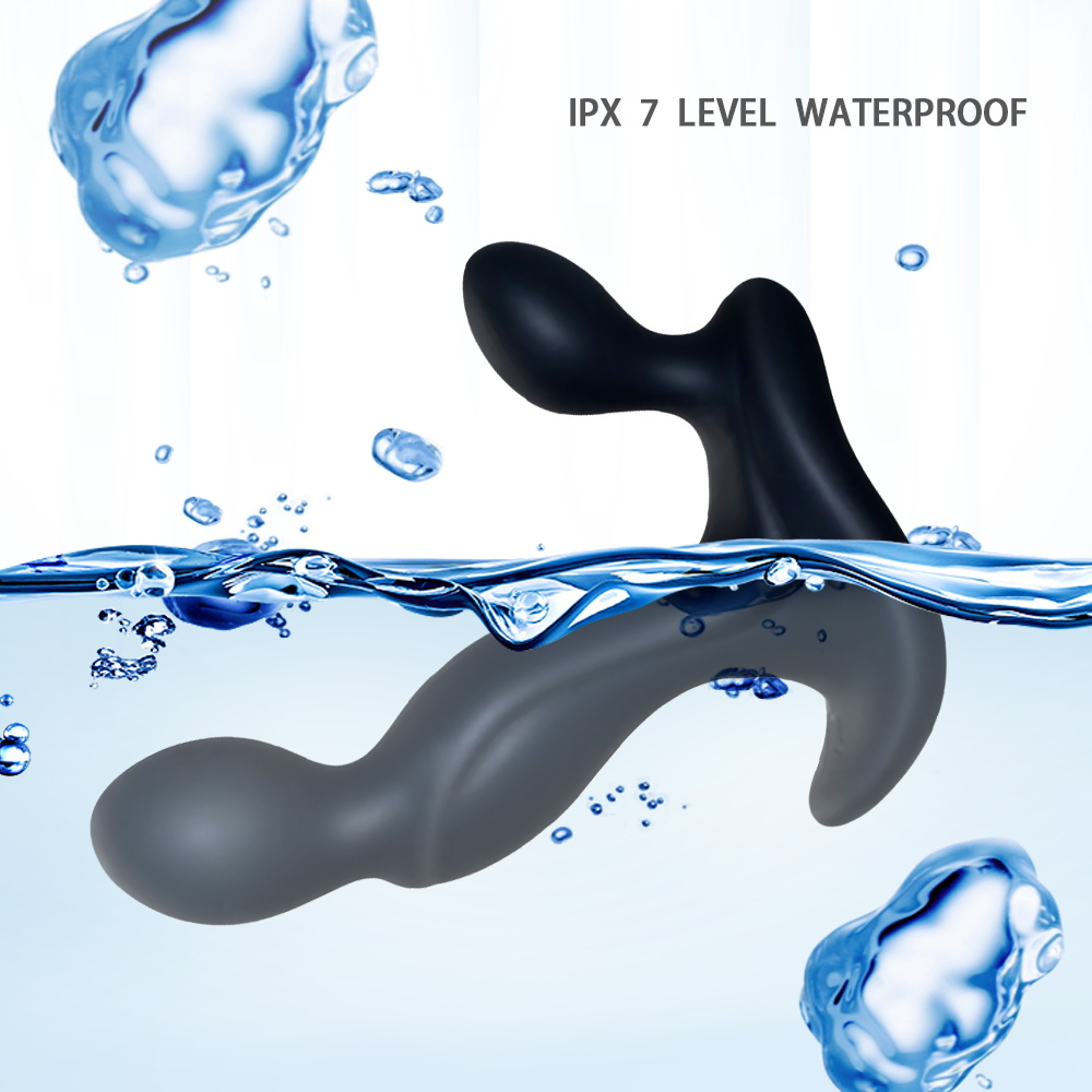 Latest Japanese Prostate Massager Anal Vibrator Sex Toys USB Rechargeable 7 Speeds Mode, Waterproof Anal Plug Toy for Men
