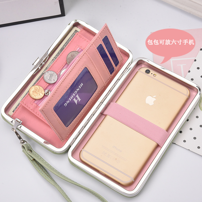 Long Women Wallet Female Card Holders Cellphone Cases Pocket Gifts Money Bag Ladies Day Clutch Purse Wallets Carteira Feminina candy leather clutch bag women long wallets famous brands ladies coin purse wallet female card phone holders carteira feminina