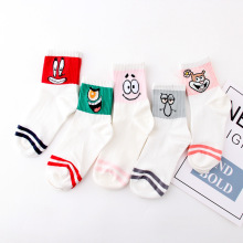 Funny socks women Japanese Jacquard cartoon mouse Korean cute casual deodorant 200 needle autumn