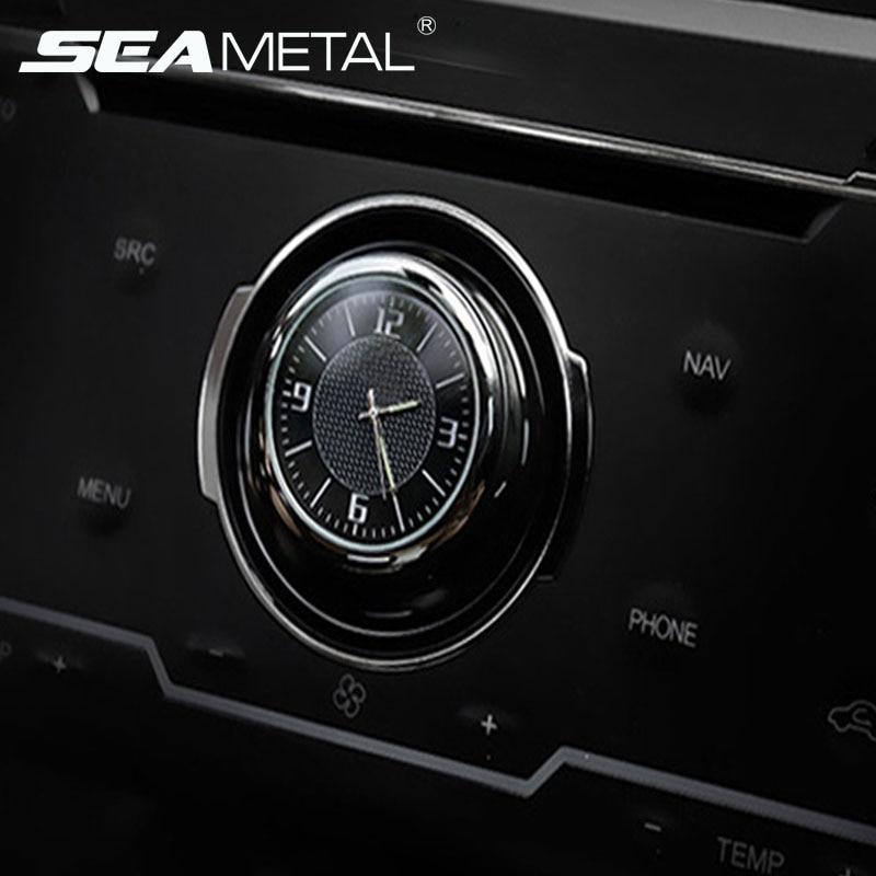 Auto-ersatzteile Messgeräte Leucht Auto Uhr Mini Digitale Uhren Quarz Autos Decor Air Vent Clip Uhr In Die Auto Uhr Autos Interior Zubehör