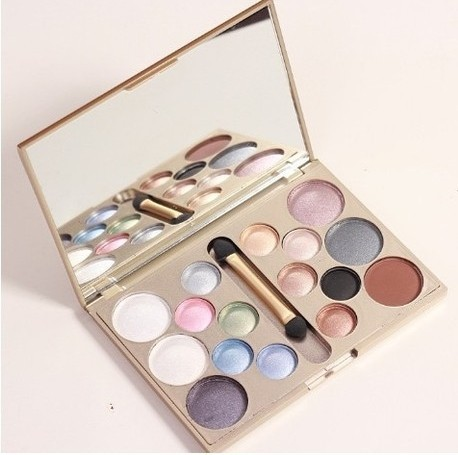 korean cosmetics 16 Colors Smoky Long Lasting Eye Shadow Palette Cosmetic Set brighten makeup tool profissional