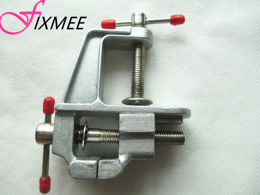Aluminum Mini Clamp On Bench Vice for Jewellers//hobbyists//Crafts//model building